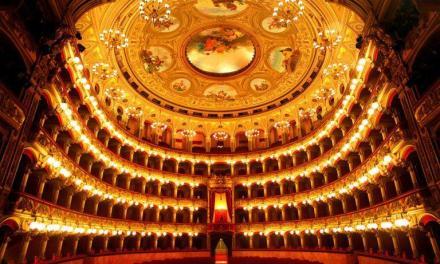 """Il Teatro """"V. Bellini """"di Catania fra i luoghi con la migliore acustica di tutto il mondo"""