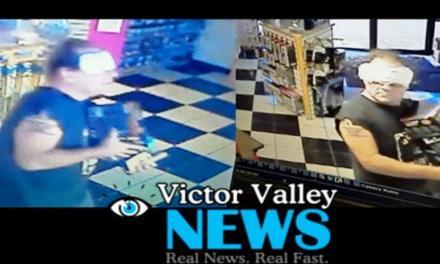Rapina negozio con assorbente in faccia per nascondere il volto
