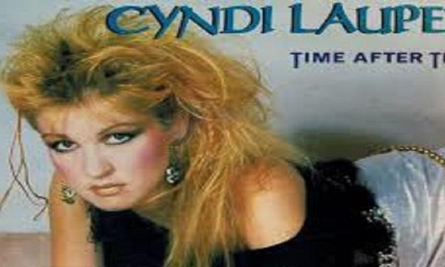 """Giugno 1984: il singolo """"Time After Time"""" di Cyndi Lauper #1 delle hitchart"""