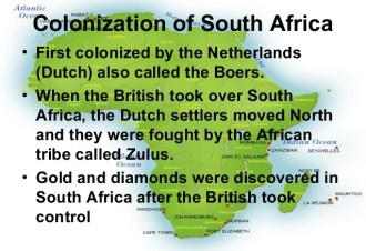 Colonial conquest and resistance, Pre 1900 – Radio Free South Africa