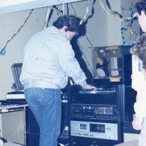 Storia di Radio Gioiosa Marina, anno 1982 in studio