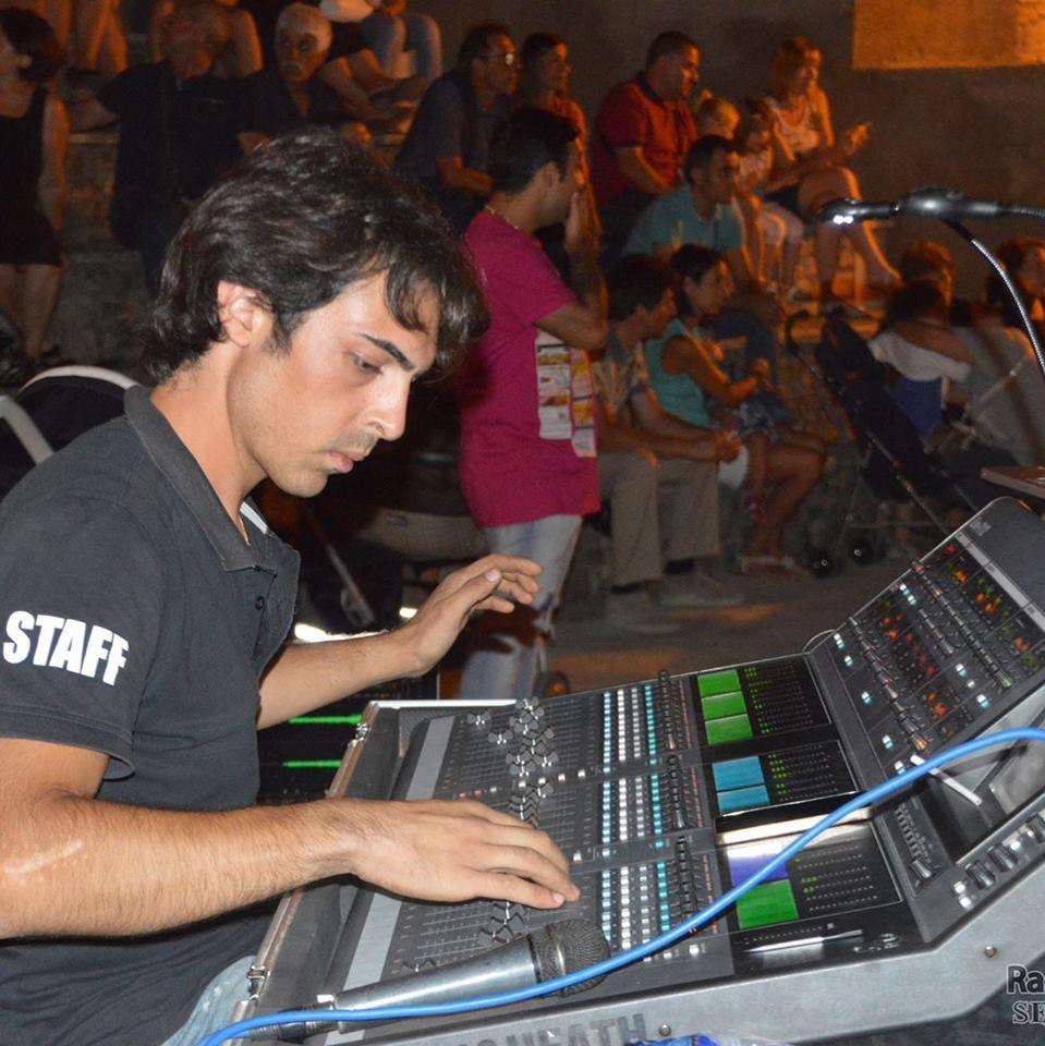 Staff di Radio Gioiosa Marina - Davide Larosa RGM Service Audio Luci