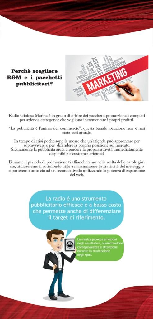 Brochure Promozioni Pubblicità Radio Gioiosa Marina 3