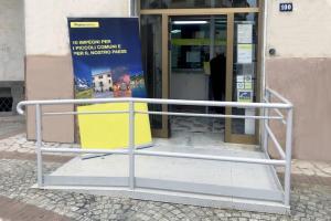 up martone poste italiane barriere architettoniche
