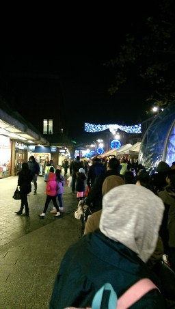 Harrow Town Centre Christmas Lights