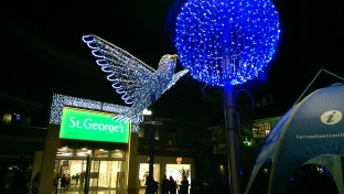 Harrow Town Centre Christmas Lights - St George's