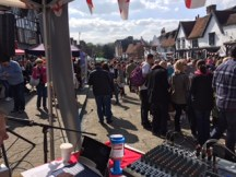Radio Harrow provided music and announcements in Pinner High Street