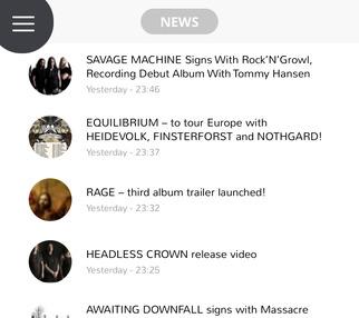 Metal Warehouse nu ook beschikbaar in eigen app