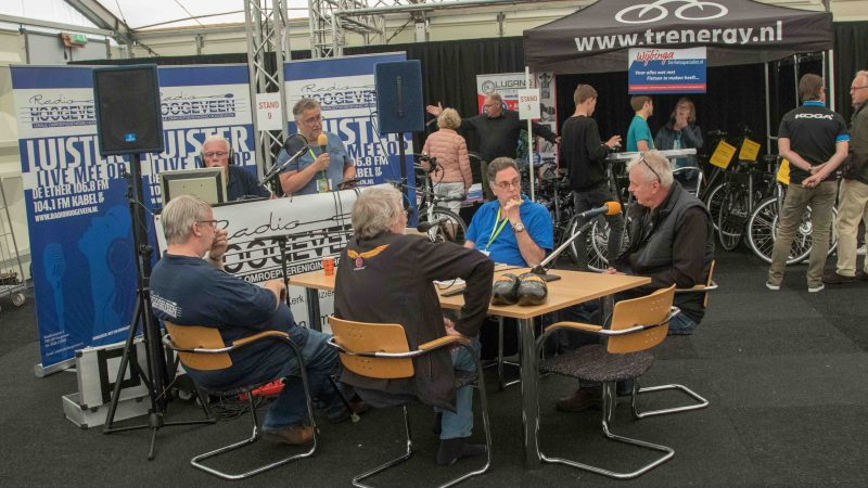 Foto's: Radio Hoogeveen bij Wings and Wheels 2018