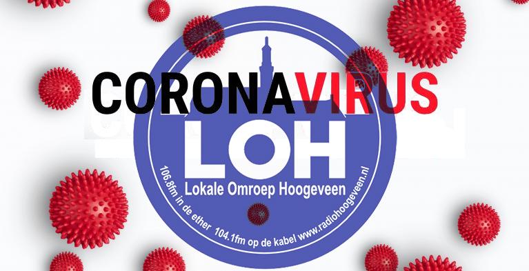 Ingelaste uitzending over Coronavirus bij Radio Hoogeveen