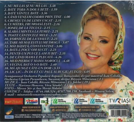 CD Mioara Velicu verso