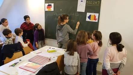 Școala românească la Karlsruhe