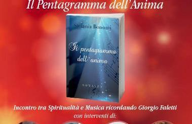 """Stefania Bonomi presenta domani """"Il Pentagramma Dell'Anima"""" a Milano locandina"""