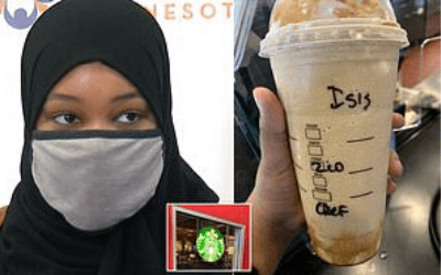 Muslim woman gets 'ISIS'-labelled Starbucks drink, files discrimination complaint