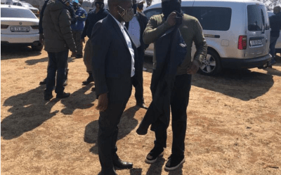 [LISTEN] Herman Mashaba Allowed EFF to Illegally Occupy Land in Lenasia, Lenasia South & Surrounds