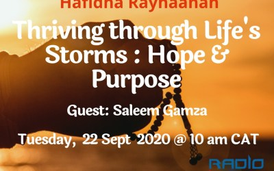 LIVING THE LEGACY: THRIVING THROUGH LIFE'S STORMS: HOPE & PURPOSE