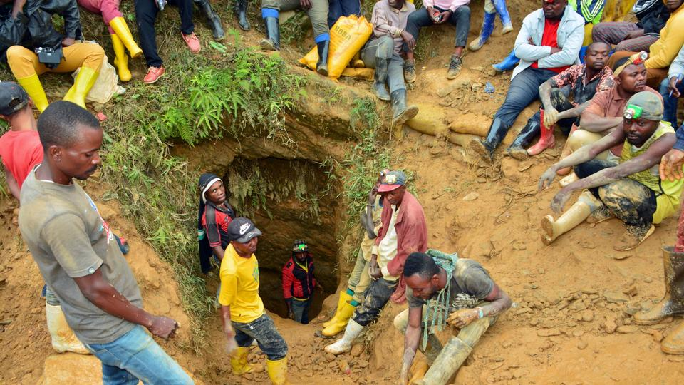 50 Expected Dead in Mine following Torrential Rains in DRC