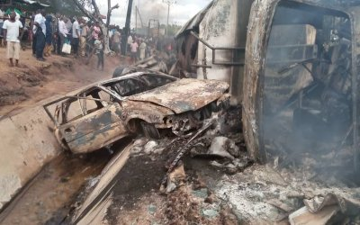 School Children Die in Nigeria Tanker Crash