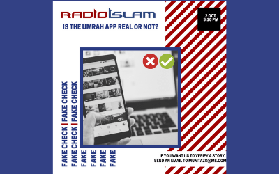 Fake Check With Mumtaz On Radio Islam – 02 Oct 2020