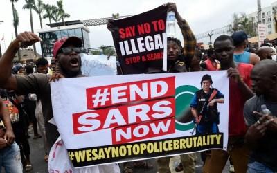 Nigerian Military Shoots Dead #Endsars Protestors