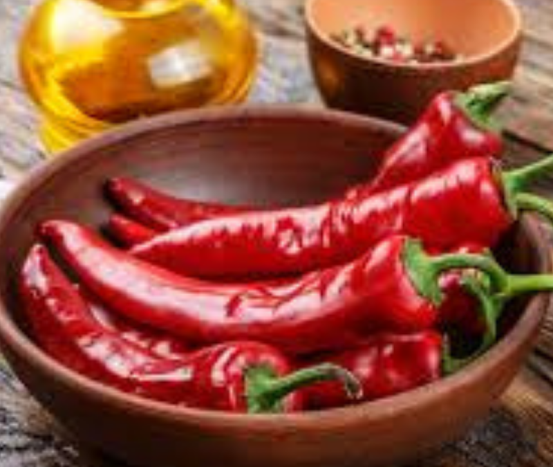 Chilli Peppers- The Spice of Long Life
