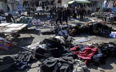 28 Die in Twin Suicide Bombings in Baghdad