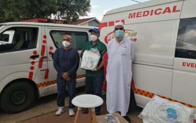 Gift of the Givers Donates Much-Needed CPAP Machines to Rescue 786 Ambulance Services