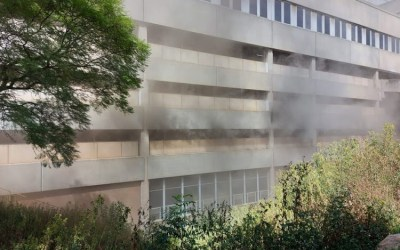 Fire at Charlotte Maxeke Hospital Reignites, Patients Evacuated, No Casualties Reported