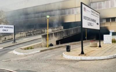 Gauteng Health Dept Announces 7-Day Closure of Charlotte Maxeke Hospital due to Severe Fire Damage