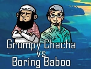 Grumpy Chacha vs Boring Baboo: Episode 19 – GC and Happy dada Take Vaccinations into their own hands