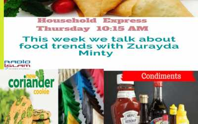 Household Express: This Week we talk about food trends with Zurayda Minty
