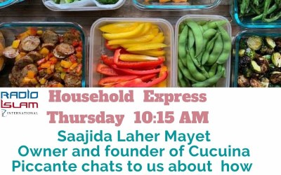 Household Express: Saajida Laher Mayet Owner and founder of Cucuina Piccante