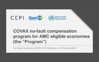 South African Government Looking Into A No – Fault Compensation Fund For Vaccine Complications