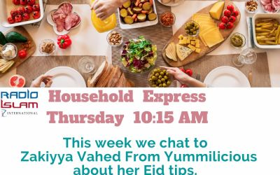 Household Express: This Week We Chat to Zakiyya Vahed from Yummilicious About Eid Tips