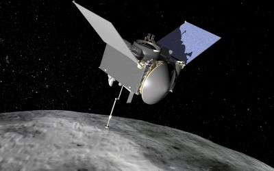 NASA Spacecraft on Two Year Journey Back to Earth  After Collecting Asteroid Samples