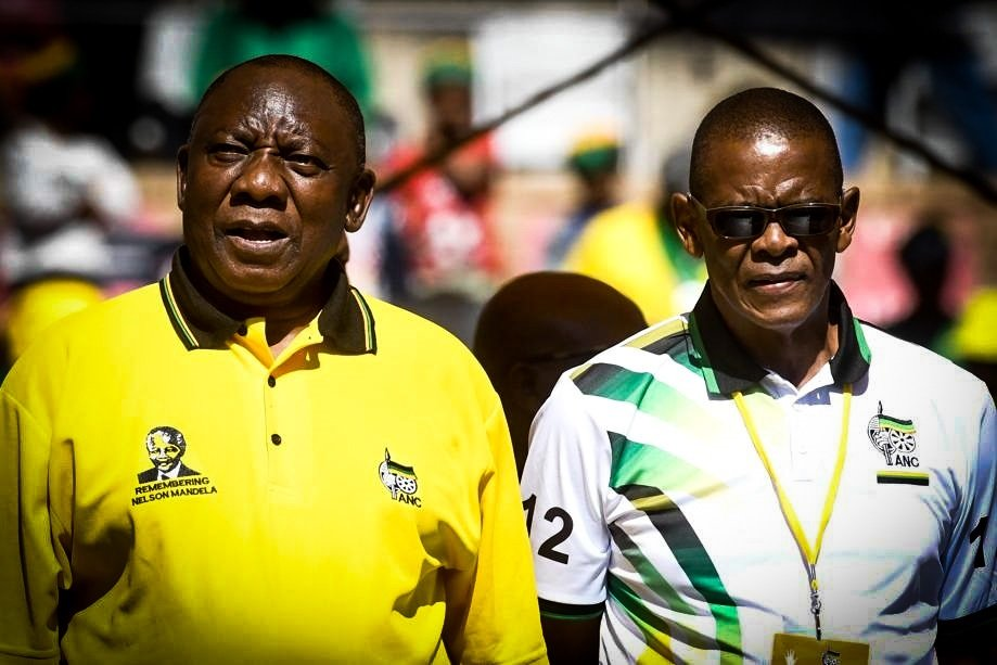 ANC Notes Ace Magashule's Letter to Suspend Party President Cyril Ramaphosa