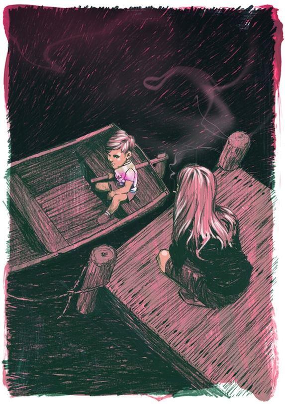 J. D. Salinger #3 – Giù al dinghy