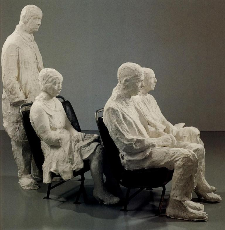 George Segal – Bus Riders