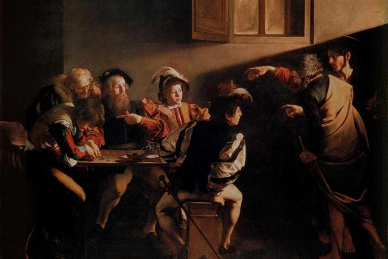 """La luce delle passioni: una riflessione da """"La vocazione di San Matteo"""" di Caravaggio"""