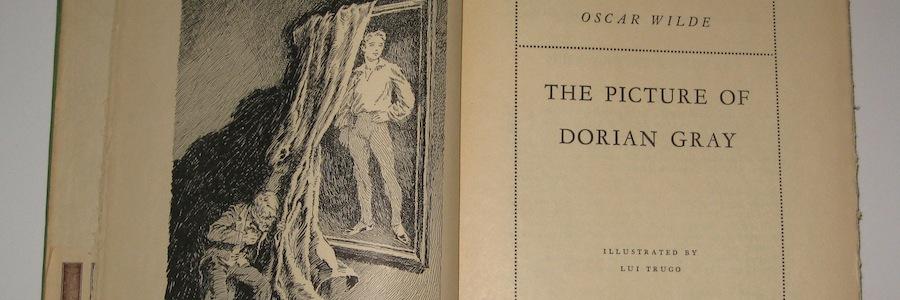 The Picture of Dorian Gray, frontespizio