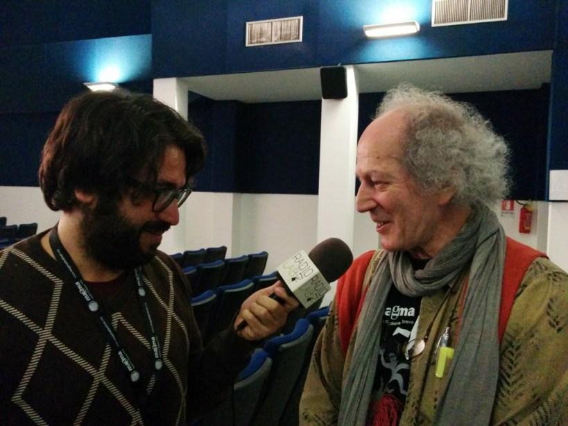 Mario Serenellini, presidente di giuria, intervistato da Radio Lab