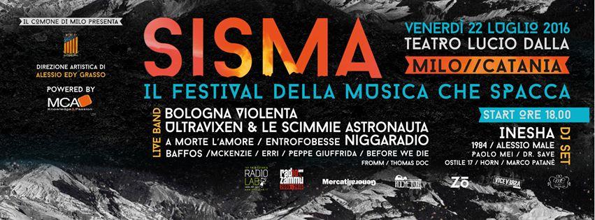 SISMA, IL FESTIVAL DELLA MUSICA CHE SPACCA