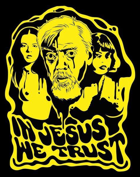 """""""In Jesus we trust"""", illustrazione di Ljubiza Mezzatesta"""