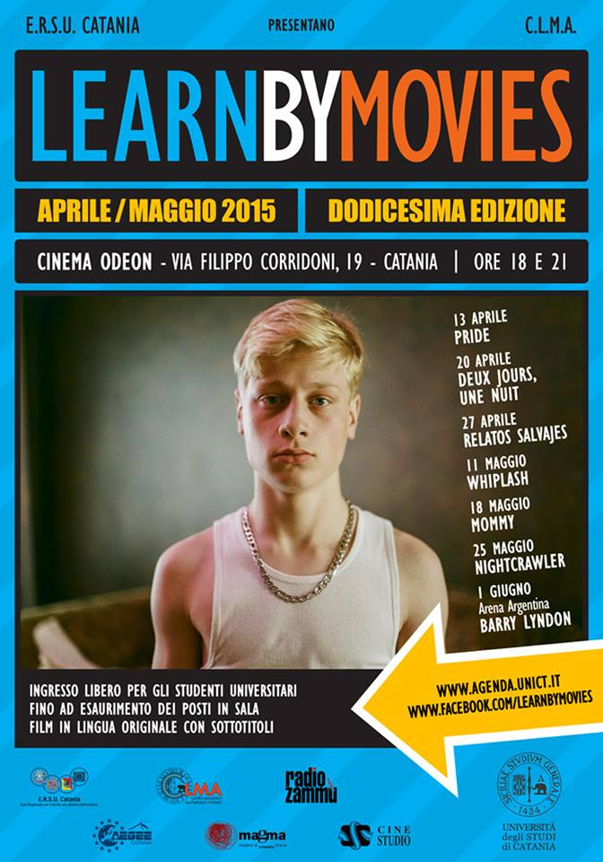 locandina learn by movies 2015