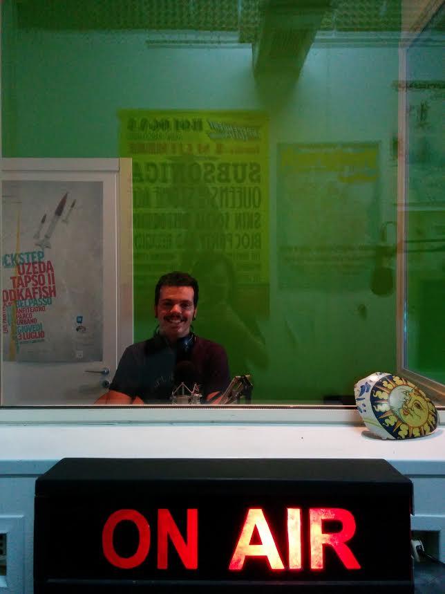 pietro blanca a Radio Lab