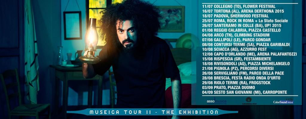 CAPAREZZA tour 2015