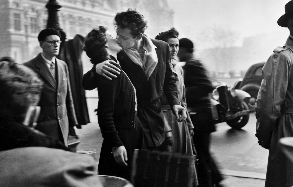 bacio di Doisneau