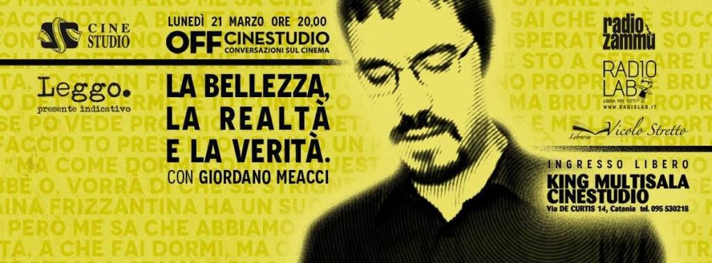 Giordano Meacci a OFF Cinestudio
