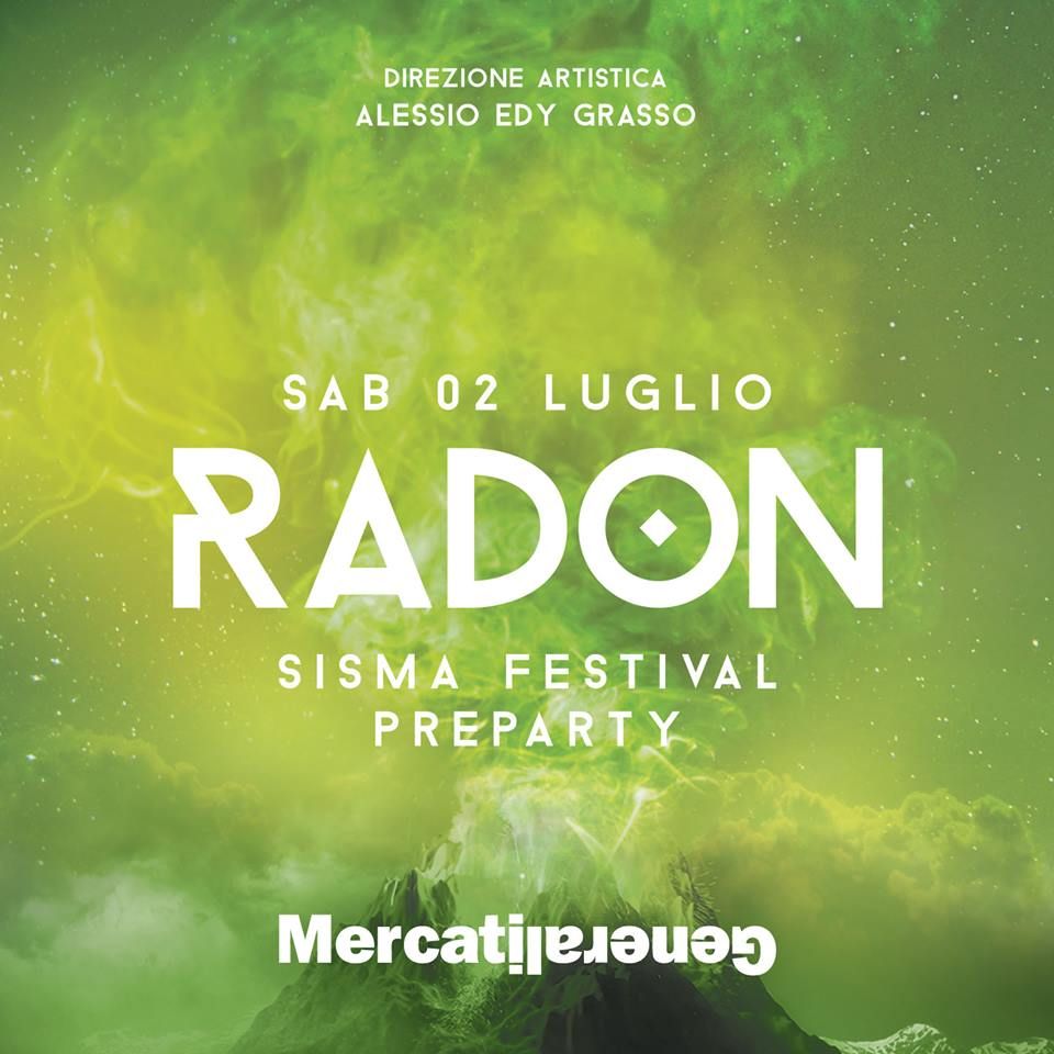 Radon, la festa prima di SISMA