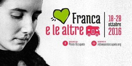 """""""Franca e le altre"""": in camper contro il femminicidio"""